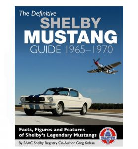 KIRJA THE DEFINITIVE SHELBY MUSTANG GUIDE 1965-1970
