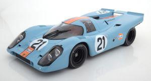 Gulf Porsche 917 -pienoismalli 1:12