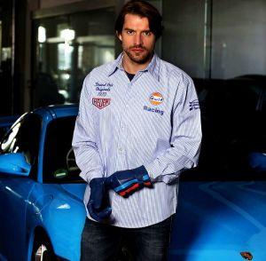 Gulf Racing Stripe paita koko S