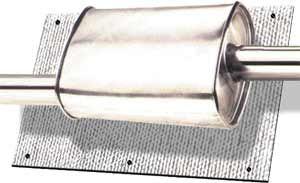 Thermotec äänenvaimentimen lämpösuoja