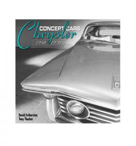 KIRJA CHRYSLER CONCEPT CARS 1940-1970