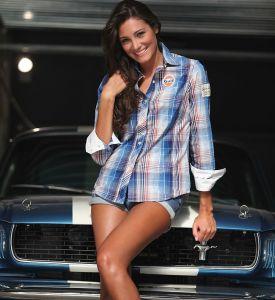 Naisten Spirit of Racing paita koko M